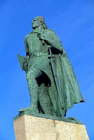 Monument, Leifur Eriksson, Reykjavik, Iceland