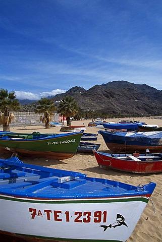 Playa de las Teresitas, San Andres, Tenerife, Spain