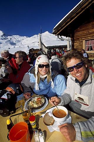 Tschuggen hut, Arosa, Graubunden, Switzerland