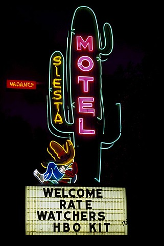 Motel, Durango, Colorado, USA