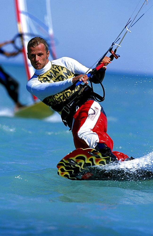 Kitesurfing, Djerba, Tunisia, Africa