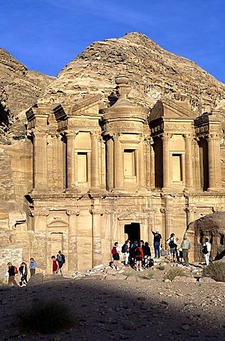 Monastary Ad Deir, Petra, Jordan, Asia