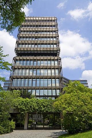 European Patent Organisation, south side, Munich, Upper Bavaria, Bavaria, Germany