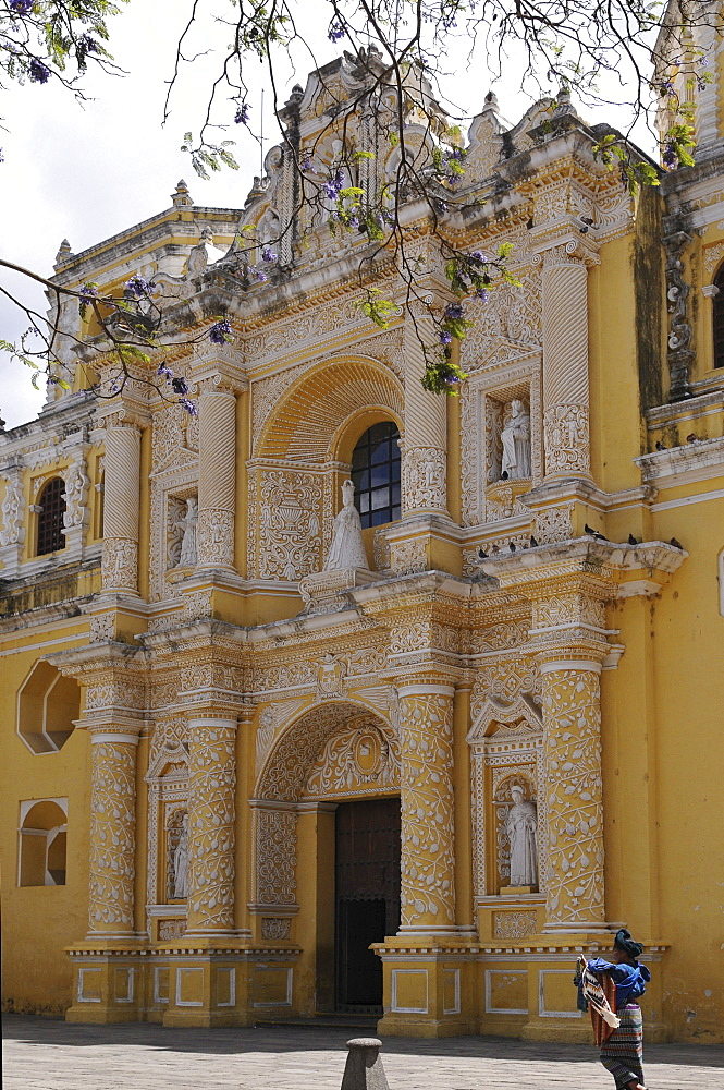 La Merced Church, Antigua Guatemala, Guatemala, Central America