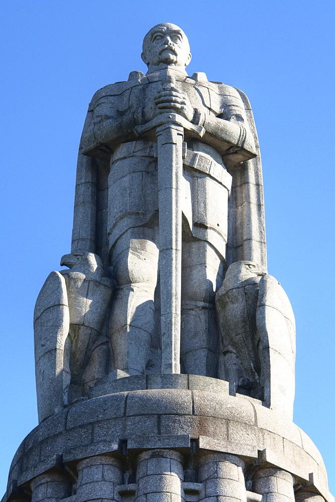 Bismarck-Denkmal (Bismarck monument), St. Pauli, Hamburg, Germany
