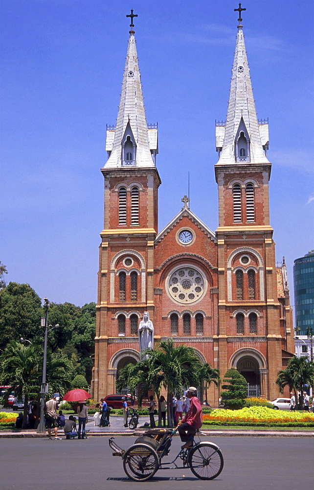 Notre Dame Cathedral in Ho Chi Minh City, Vietnam, Asia