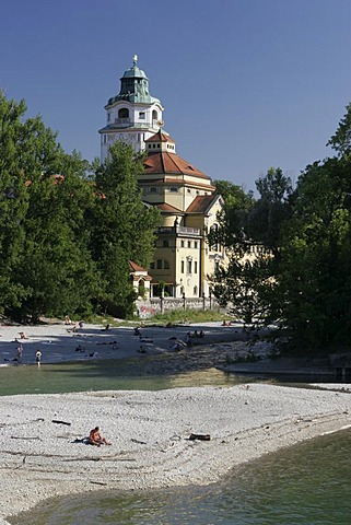 Muellersches Volksbad (indoor swimming pool), Munich, Upper Bavaria, Bavaria, Germany