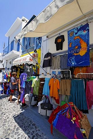 Shop, Fira, Santorin, Aegean Sea, Greece, Europe