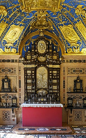 Reiche Kapelle (Ornate Chapel), Residence Museum, Munich, Bavaria, Germany
