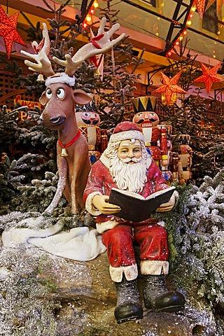 Santa Claus, Europa-Park Rust, Baden-Wuerttemberg, Germany