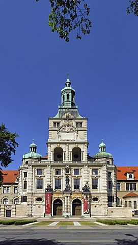 The bavarian national museum, Munich, Bavaria, Germany