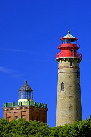 Lighthouse, Cape Arkona, Ruegen, Mecklenburg-Western Pomerania, Germany