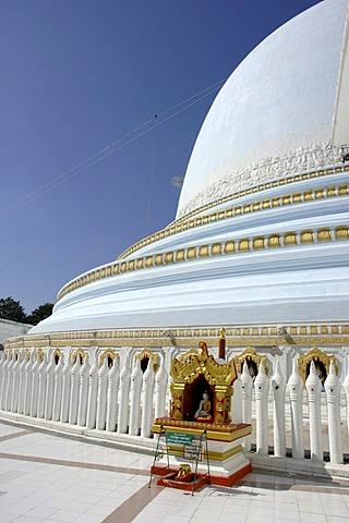 Burma, Myanmar, Sagaing temple near Mandalay, Kaung-hmu-dwa-pagoda