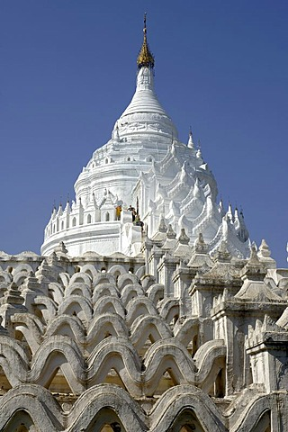 Hsin-byu-me-Pagode in Mingun, Myanmar,