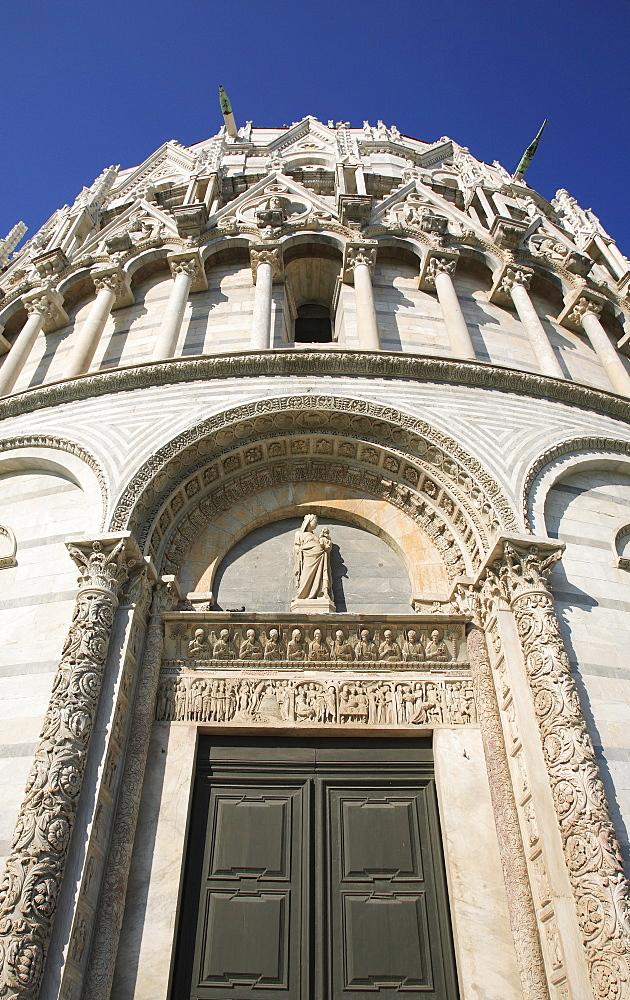 Baptistery St. John, Pisa, Tuscany, Italy