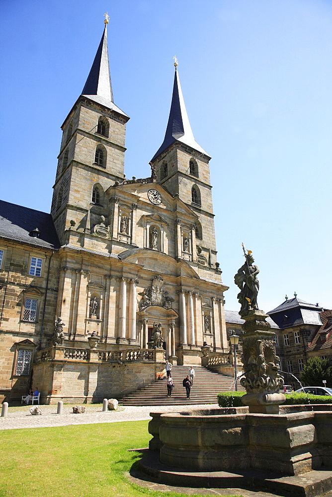St. Michael Monastery, Michelsberg, Bamberg, Upper Franconia, Bavaria, Germany, Europe