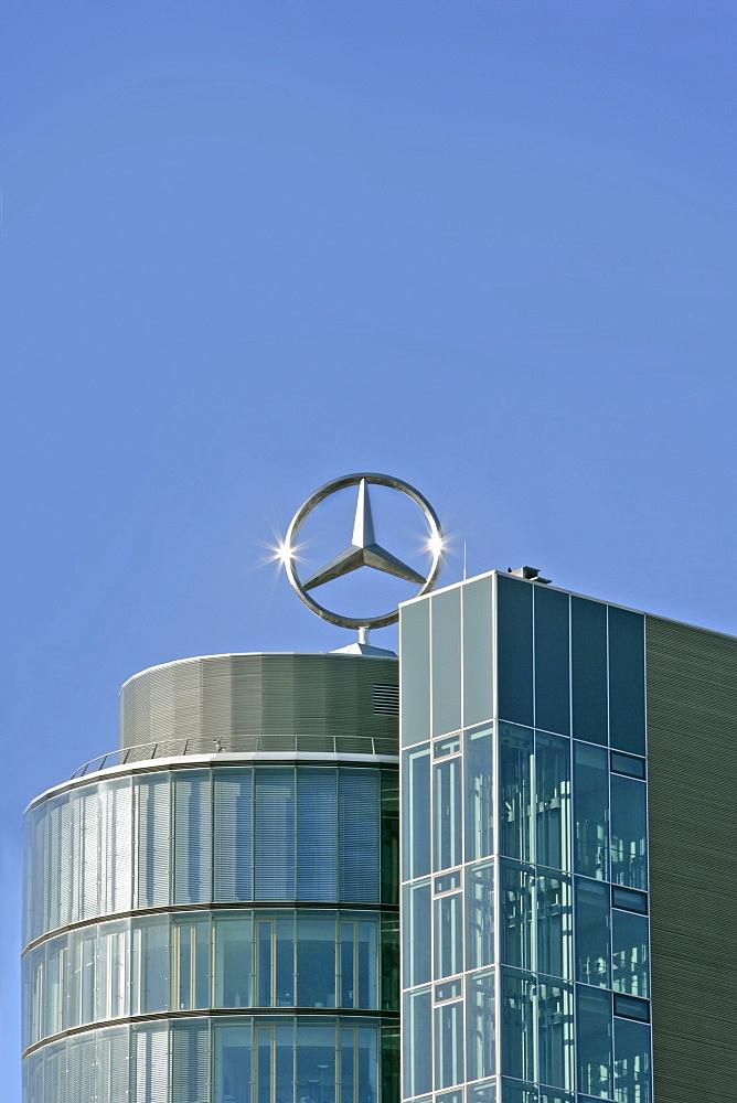 Mercedes-Benz building, Munich, Bavaria, Germany