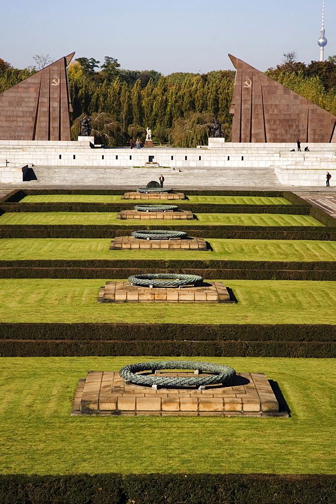 Soviet War Memorial, Treptow, Berlin, Germany