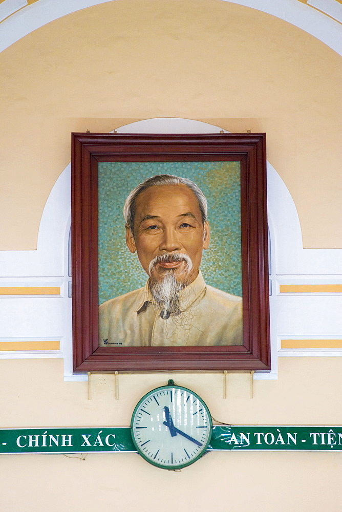 Portraet of Ho chi minh