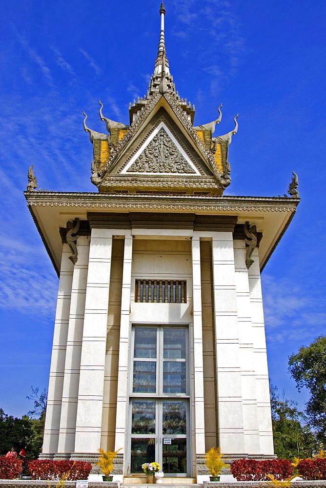 Pagoda, Choeung Ek, Killing Fields, Cambodia, Asia