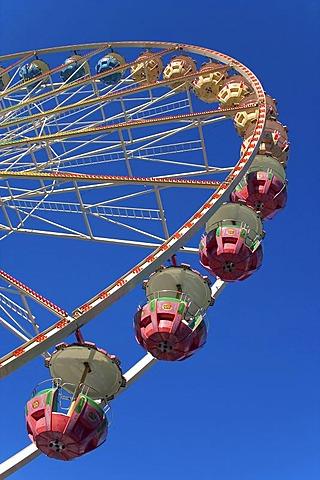 Ferris wheel, Biberach an der Riss, Upper Swabia, Baden-Wuerttemberg, Germany
