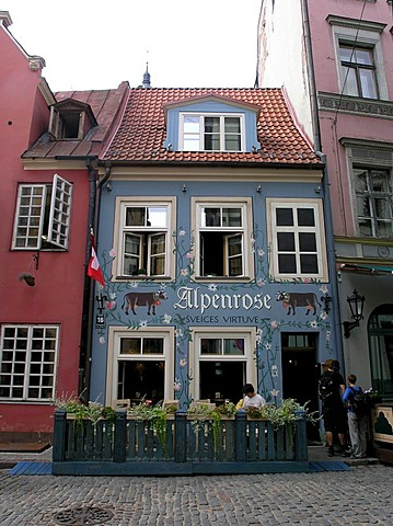 Restaurant Alpenrose in Riga Latvia