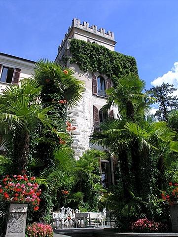 Hotel Castello Seeschloss Ascona Ticino Switzerland