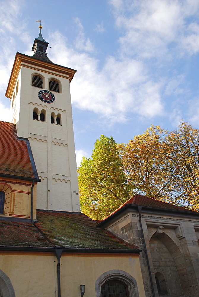 Collegiate church pc. Pelargius monastery Denkendorf Baden Wuerttemberg Germany