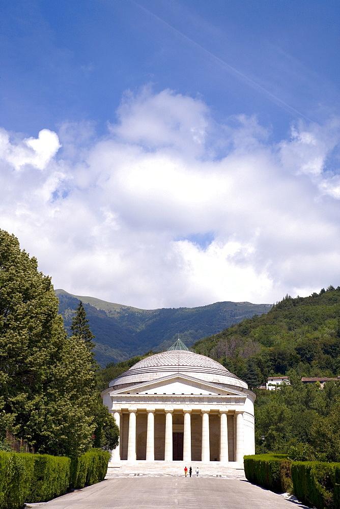 Canova Temple, Possango, Veneto, Italy, Europe