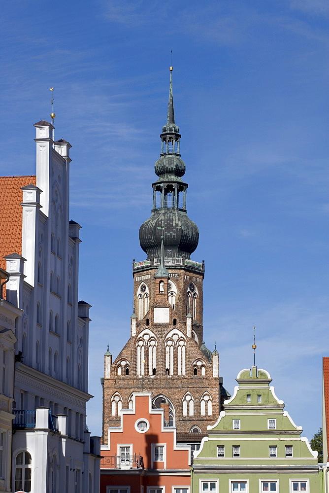 St. Nikolai Cathedral, Greifswald, Mecklenburg-Western Pomerania, Germany, Europe