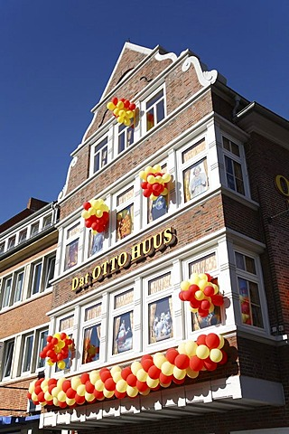 Ottohus, museum by the comedian Otto Waalkes, Emden, Lower Saxony, Germany