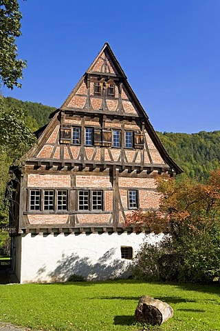 The bathhouse of the convent of Blaubeuren, Baden-Wuerttemberg, Germany