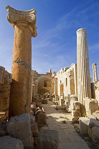 Roman archeological site of Leptis Magna