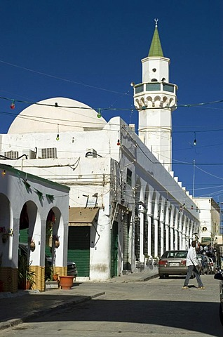 Old mosque in Tripoli, Libya