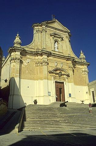 Cathedral of Victoria (Rabat), Gozo island, Malta