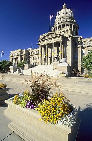 Capitol of Idaho in Boise, Idaho, USA