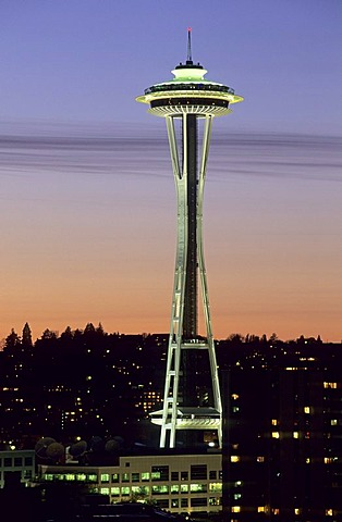Space Needle, Seattle, Washington State, USA