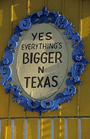 Everything is bigger in Texas, Amarillo, Texas, USA - 832-355449