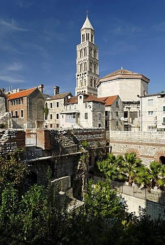 Historic city of Split, Diocletian Palace, Dalmatia, Croatia