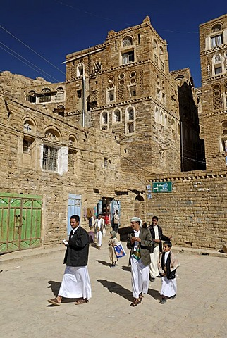 Old town of Thula, Yemen
