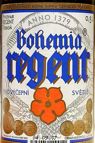 Czech beer, beer from Trebon, Bohemia, Czech Republic