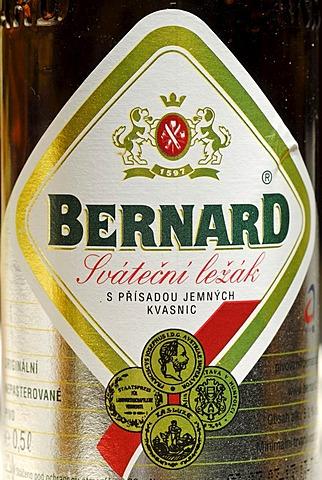 Czech beer, beer from Humpolec, Bohemia, Czech Republik