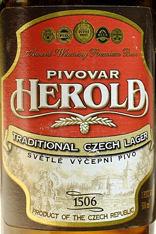 Czech beer, beer from Breznice u Pribrami, Bohemia, Czech Republik