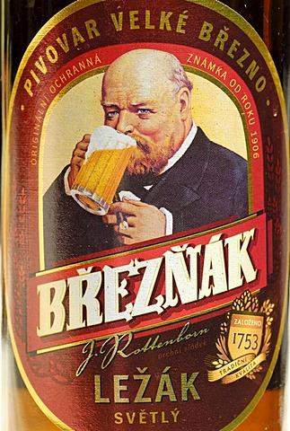 Czech beer, beer from Usti nad Labem, Bohemia, Czech Republik