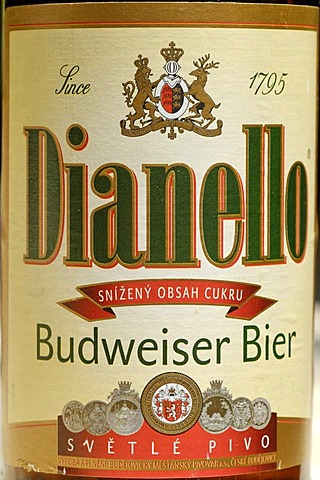 Czech beer, beer from Cesky Budejovice, Budweis, Bohemia, Czech Republik
