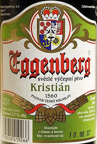 Czech beer, beer from Cesky Krumlov, Bohemia, Czech Republik
