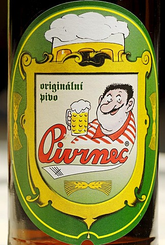 Czech beer, beer from Usti nad Labem, Bohemia, Czech Republik