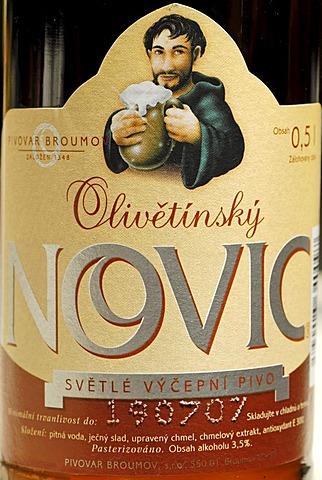Czech beer, beer from Broumov, Bohemia, Czech Republik