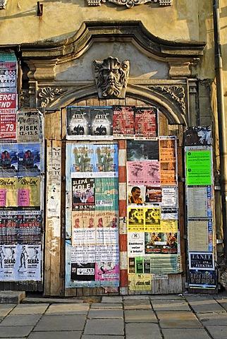 Historic old town of Pilsen, Plzen, west Bohemia, Czech Republic