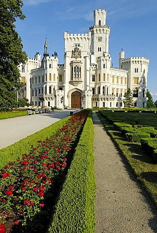 Hluboka castle, South Bohemia, Czech Republik